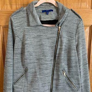 Apt. 9 XL Gray Moto Jacket
